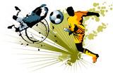 goalkeeper and striker