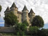 Fototapety Château de Val ; Auvergne ; Limousin