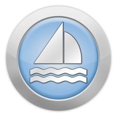 "Light colored Icon ""Sailing"""