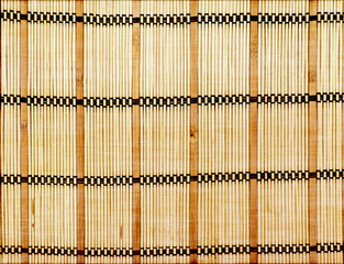 Abstract background in the form of a straw mat