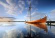 Fototapete Kampf - Blau - Andere Boote