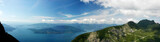 A 270 degree panorama bird view from lions mountain