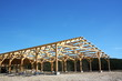 Agricultural Barn Under Construction - 22671751
