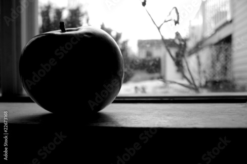 Apple in a Window