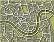 Nameless toned map