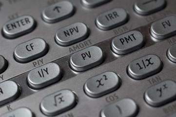 Financial Calculator Buttons