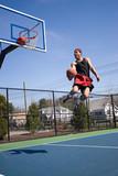 Skilled Basketball Player poster