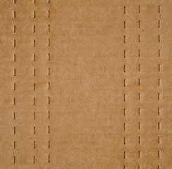 Cardboard with Perforated Lines