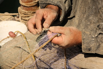 Fixing a Fish net