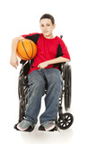 Young Athlete - Disability poster