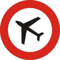Luftraumsperre, Flugraumsperre, gesperrter Luftraum, Flugverbot