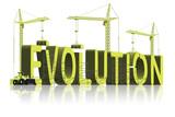 evolution or intelligent design creation by god poster