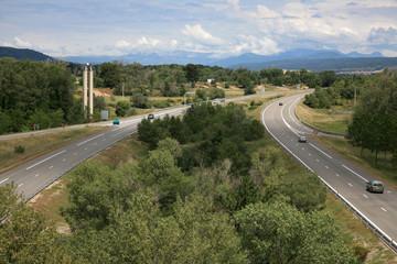 Scenic Highway in France