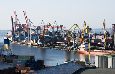 marine industrial port