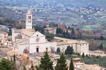 Assisi, Basilica Santa Chiara