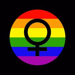 simbolo lesbiana
