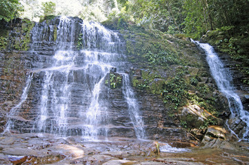 Waterfalls of Borneo