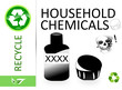 Please recycle household chemicals