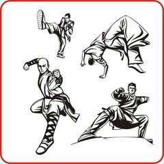 karate. Extreme sport.
