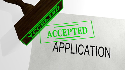 appliacation accepted