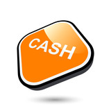 cash bar zeichen symbol button