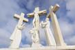Skulptur der Kreuzigung