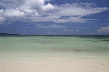 Lagune in der Karibik