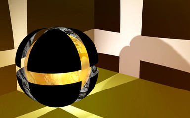 Simbolo Fede Religiosa Astratto-Abstract Religion Symbol