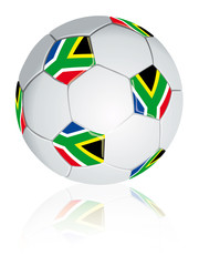South Africa soccerball