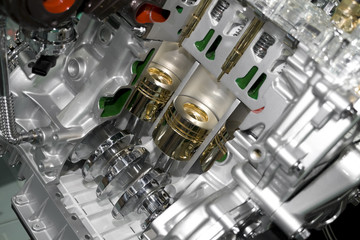 automobile cylinder block