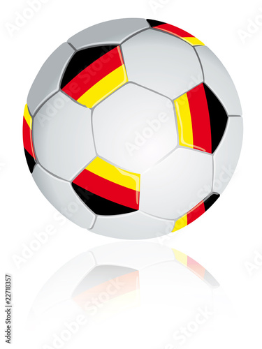 Germany soccer ball.
