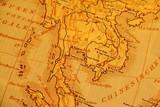 Fototapeta historyczne - retro - Mapa / Świat