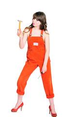 sensual contractor girl