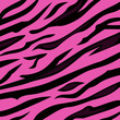 Animal  pattern - pink tiger skin texture. VECTOR