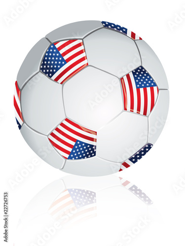 United States soccer ball