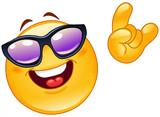 Fototapety Funky emoticon