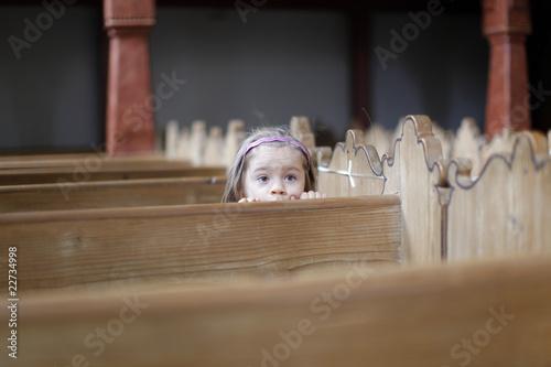 girl at church - 22734998