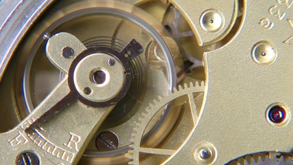 Uhrwerk Makro - Video - Watch Mechanism