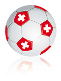 Swiss soccer ball.