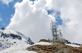 Alpine meteorological weather station