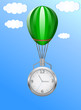 Balloon clock
