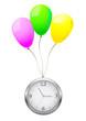 Balloons clock