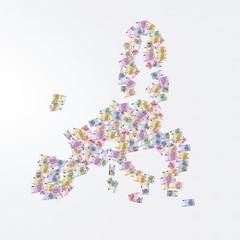 mappa banconote euro