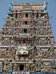 Kapaleeswarar-Tempel in Chennai