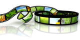 Fototapety Film with images