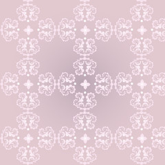 Classic decorative seamless background with floral pattern