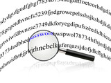 Cerca Password poster