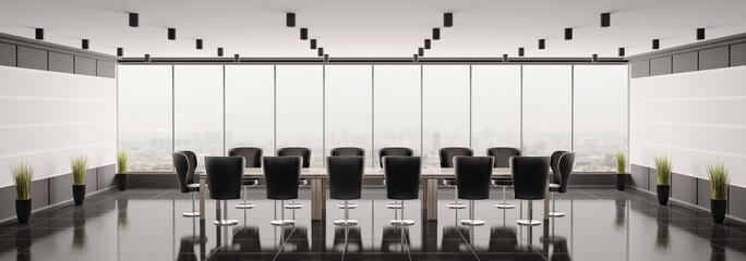 Konferenzzimmer panorama 3d