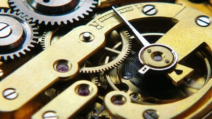 Uhrwerk - Video - Watch Mechanism Close-up