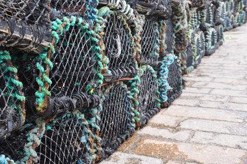 Lobster Pots (Lined Up)